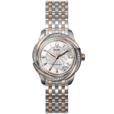 Bulova Ladies Precisionist Brightwater Watch 98R153