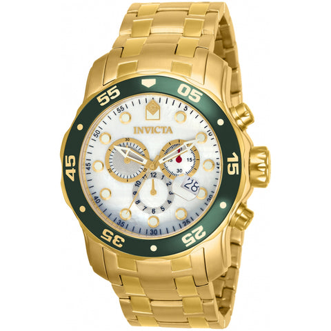 Invicta  Pro Diver 80073  Stainless Steel Chronograph  Watch