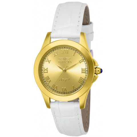 Invicta Women's Angel 14805 White Leather Watch