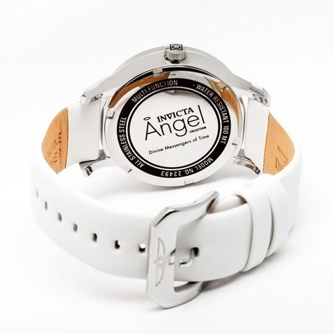 Invicta  Angel 22493  Leather  Watch - 1820 Watches