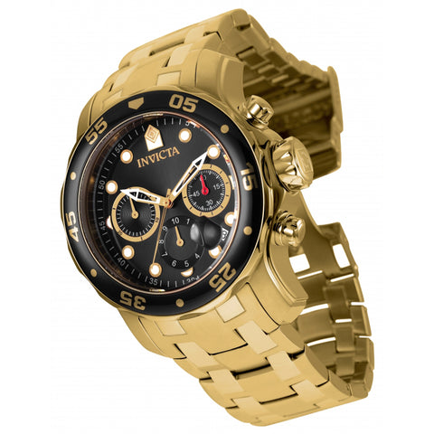 Invicta  Pro Diver 80064  Stainless Steel Chronograph  Watch