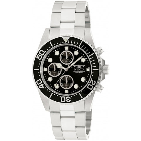 Invicta  Pro Diver 1768  Stainless Steel Chronograph  Watch