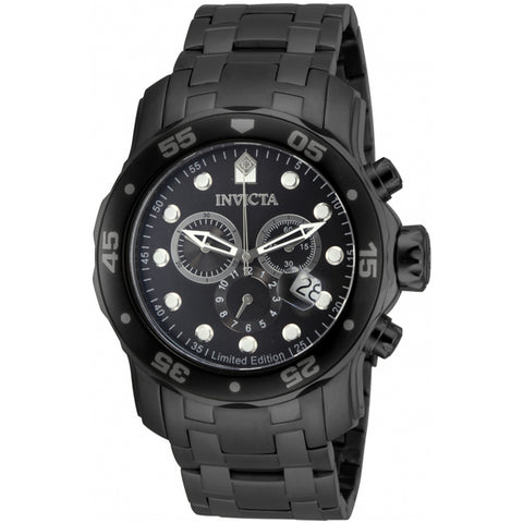 Invicta  Pro Diver ILE0076A  Stainless Steel Chronograph  Watch