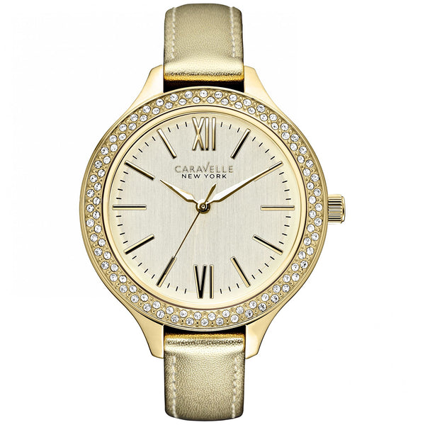 Caravelle New York Ladies' Carla Watch 44L131 - 1820 Watches