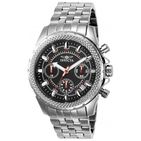Invicta  Signature 7166  Stainless Steel Chronograph  Watch