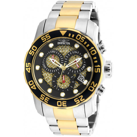 Invicta  Pro Diver 19839  Stainless Steel Chronograph  Watch