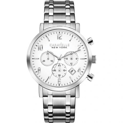 Caravelle New York Ladies' Jasper Chronograph Watch 43B138