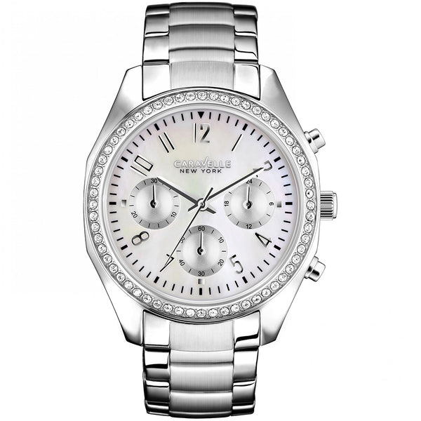 Caravelle New York Ladies' Melissa Chronograph Watch 43L159 - 1820 Watches
