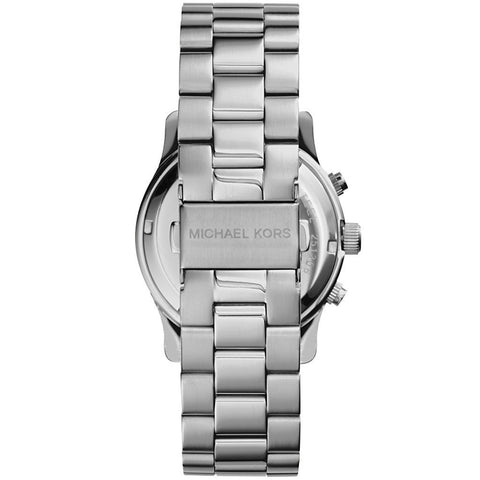 Michael Kors MK5076 Ladies' Runway Chronograph Silver Watch - 1820 Watches