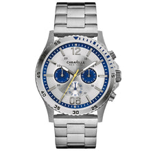 Caravelle New York Mens Chronograph Watch 43A130