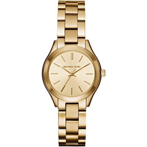 Michael Kors Ladies Mini Slim Runway Watch MK3512