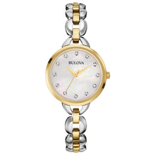 Bulova Ladies' Two-Tone Stainless Steel Watch 98L208