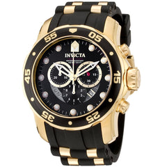 Invicta  Pro Diver 6981  Polyurethane, Stainless Steel Chronograph  Watch