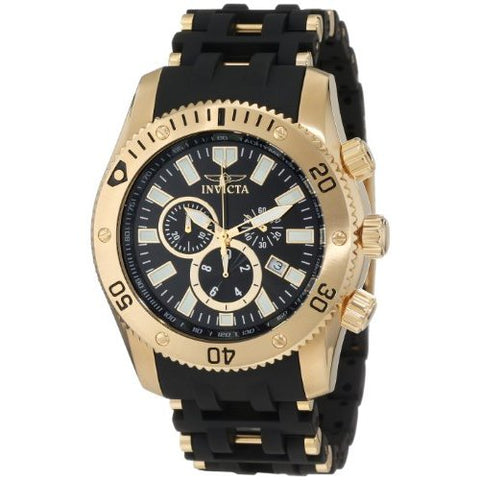 Invicta  Sea Spider 0140  Stainless Steel, Polyurethane Chronograph  Watch