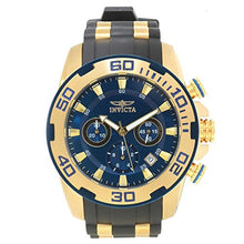 Invicta  Pro Diver 22341  Silicone, Stainless Steel Chronograph  Watch