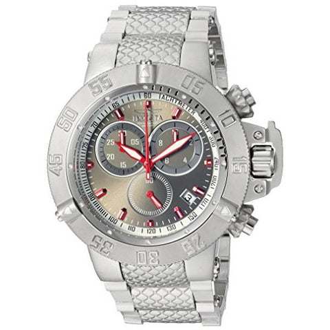 Invicta  Subaqua 24720  Stainless Steel Chronograph  Watch