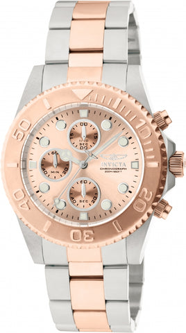 Invicta  Pro Diver 1775  Stainless Steel Chronograph  Watch