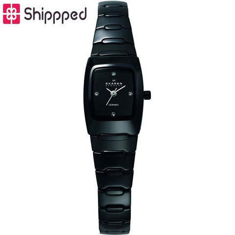 Skagen Ladies' Black Ceramic Watch 814XSBXC1