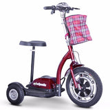 EW-18 Stand & Ride-Scooter-E-Wheels-Red-Gerimart.com