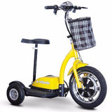 EW-18 Stand & Ride-Scooter-E-Wheels-Yellow-Gerimart.com