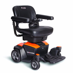 Go-Chair-Power Chair-Pride-Amber Orange-Gerimart.com
