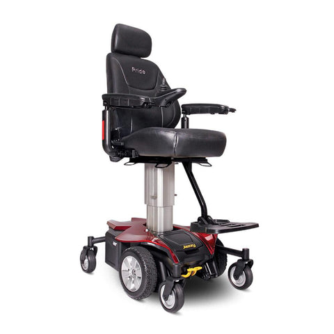 Jazzy Air-Power Chair-Pride-Ruby Red-Regular: 18'' x 18''-Gerimart.com