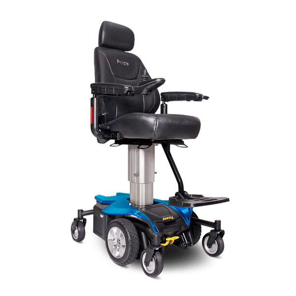 Jazzy Air-Power Chair-Pride-Sapphire Blue-Regular: 18'' x 18''-Gerimart.com
