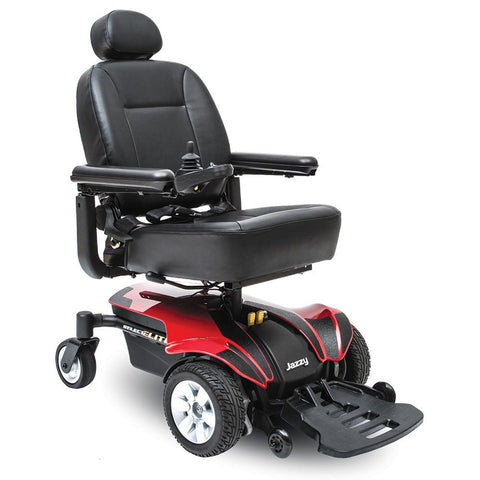 Jazzy Select Elite-Power Chair-Pride-Red-Gerimart.com