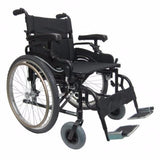 Lightweight Bariatric Wheelchair-Wheelchair-Karman-Normal (20'x18')-Normal (19')-Standard-Gerimart.com