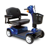 Maxima Bariatric Scooter-Scooter-Pride-Blue-Medium Back 22'x18.5'-Gerimart.com