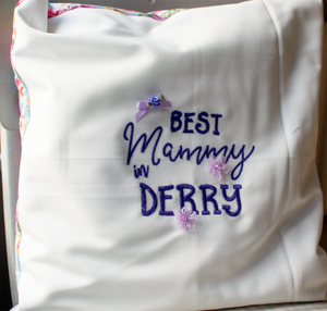 Mother's Day Cushion, Best Mammy in Derry