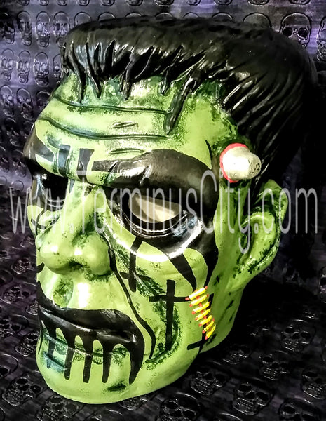 Frankenstein Hand Painted Head - King Diamond