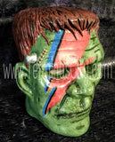 Frankenstein Hand Painted Head - David Bowie