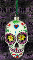 Sugar Skull Ornaments (Set of 2)