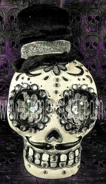 Day Of The Dead Sugar Skull Man