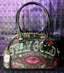 "Small Bowling Handbag ""Stay Gold"""