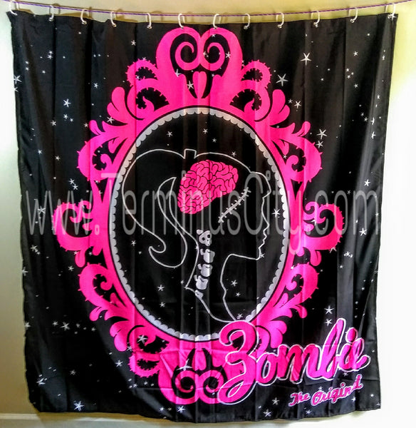 Barbzie Cameo Shower Curtain