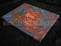 "Handpainted Spiderman Canvas One-Of-A-Kind 8""x10"" (or Custom Available)"