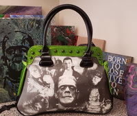 Monsters Horror Large Purse Handbag ☆FREE US SHIPPING☆