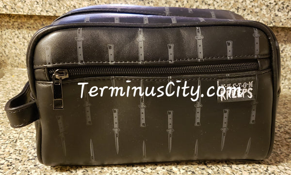 Switchblades Travel Grooming Or Cosmetic Bag
