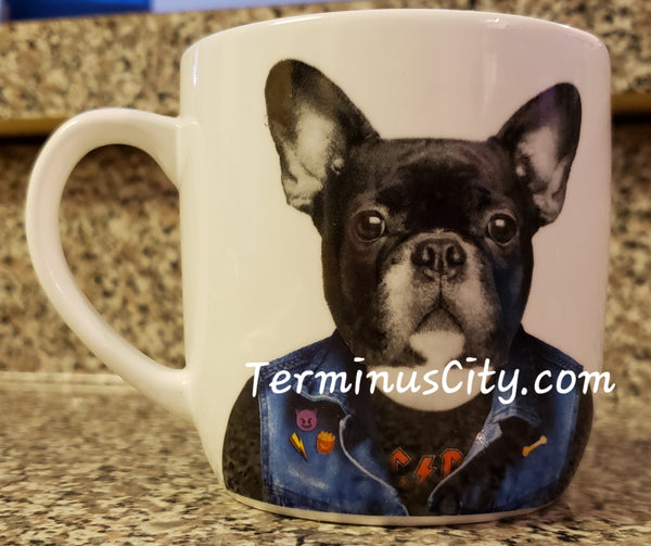 Rocker Dog Wild Dining Mug