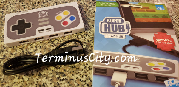 Super Hub Gamer Playhub - USB Hub