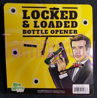 Locked & Loaded Bottle Opener