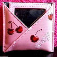 Makeup Mirror Pouch - Cherry Martini
