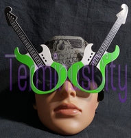 Guitar Shaped Sunglasses - Green