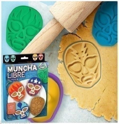 Muncha Libre Cookie Cutter Set
