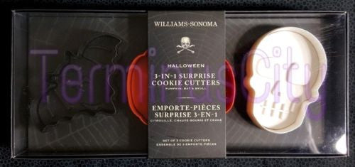 Halloween Surprise Cookie Cutter Set