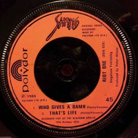 "Sham 69 - Voices 7"" Record - Bill Danforth Collection"