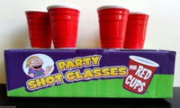 Red Party Cups Shot Glass Set