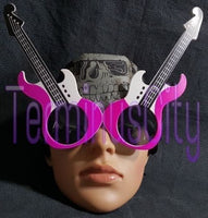 Guitar Shaped Sunglasses - Purple / Violet